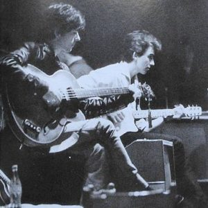 Stu Sutcliffe and George Harrison